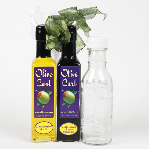 Olive Oil, Balsamic and Shaker Set