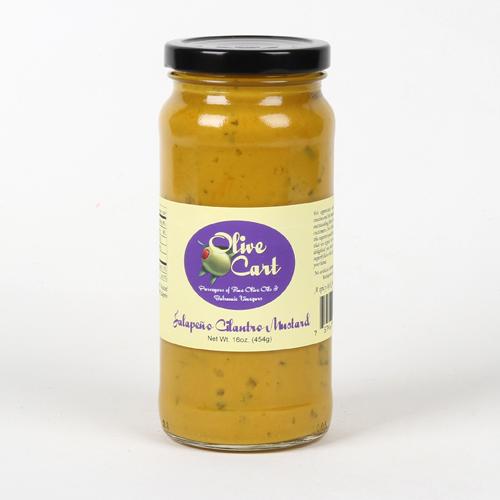 Jalapeno Cilantro Mustard