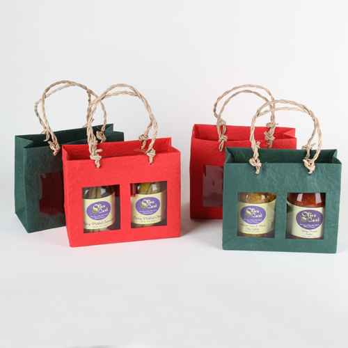 Short window gift bag