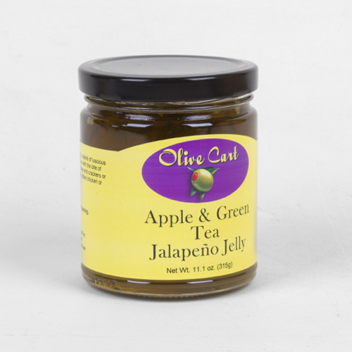 Apple Green Tea Jalapeno Jelly