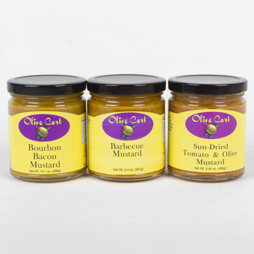 Gourmet Mustards 3-pack