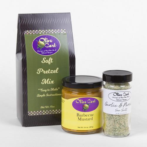 Soft Pretzel, Sea Salt & Gourmet Mustard Kit