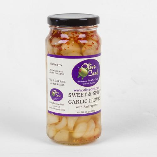 Sweet & Spicy Garlic Cloves