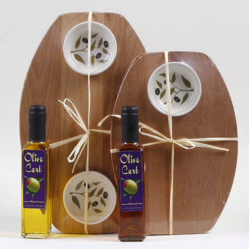 Personalized Oil & board with Dipping Bowl(s)