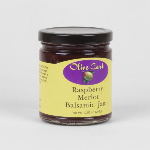 Raspberry Merlot Balsamic Jam
