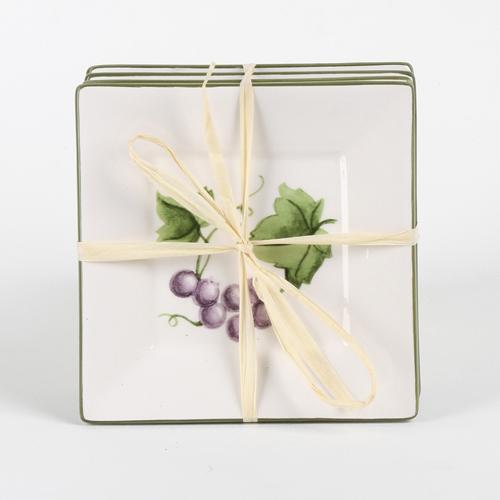 Tidbits plates 4-pack Grapes