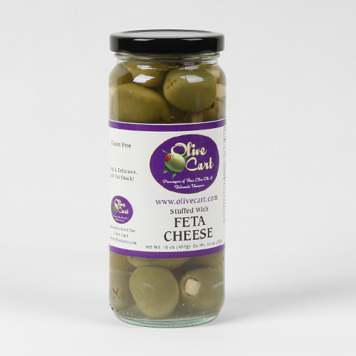 Feta Cheese Stuffed Olives