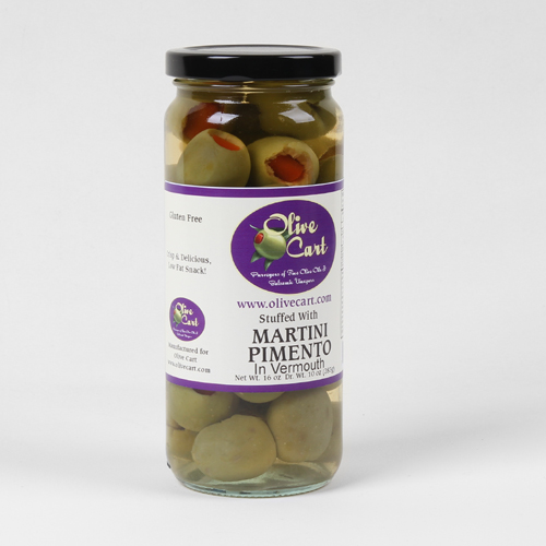 Vermouth Soaked Olives