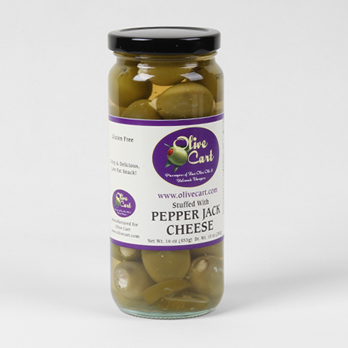 Pepperjack Cheese Stuffed Olives
