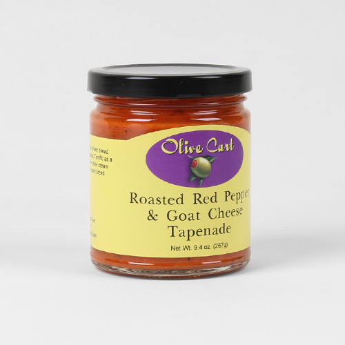 Roasted Red Pepper & Olive Goat Cheese