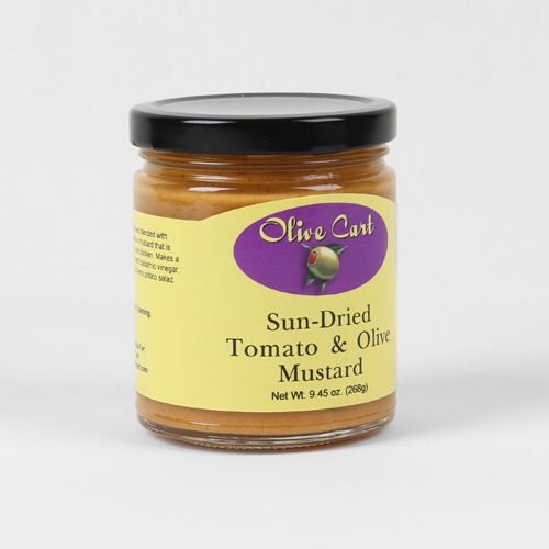 Sundried Tomato & Olive Mustard