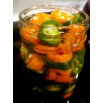 Easy Spicy Pickled Carrots and Jalapenos