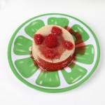 Raspberry Lime Chai Crepe Cakes